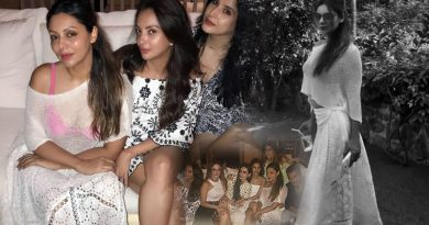 Gauri Khan's hot look at SRK's birthday bash in Alibaug!