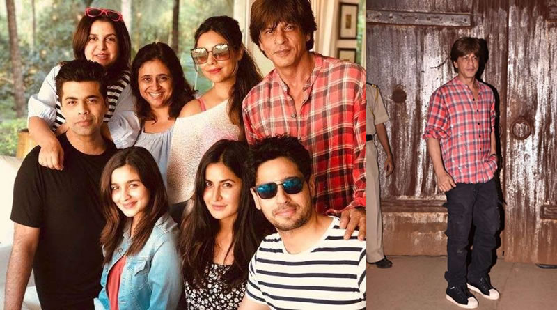 Celebs at SRK's birthday bash in Alibaug farmhouse!