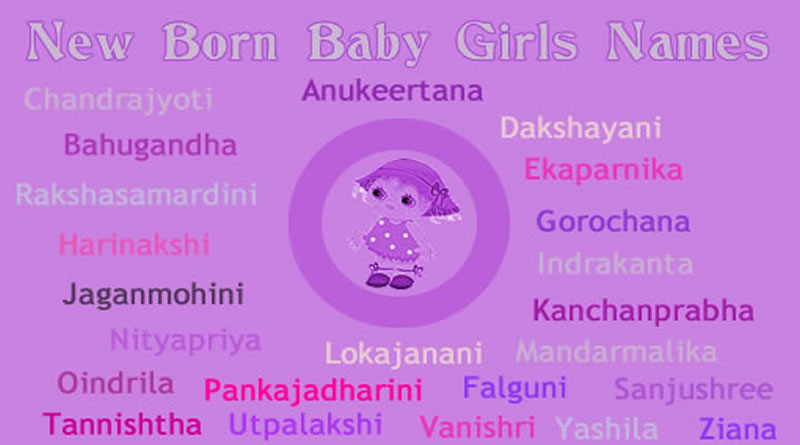 Indian Baby Girl Names Or Hindu Start With Letter A To Z