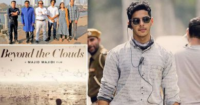 Ishaan Khatter wins Best Actor award for Beyond The Clouds!