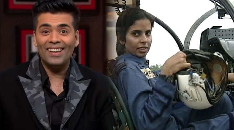 Karan Johar's next is a biopic on flight lieutenant Gunjan Saxena