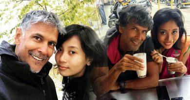 Milind Soman's birthday celebration with girlfriend Ankita Konwar!