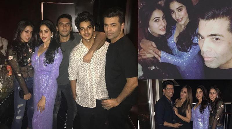 Newbies Vs Stars at Deepika Padukone's party!