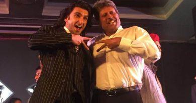 Ranveer Singh hopes some training and tips from legendary Kapil Dev for film '83!