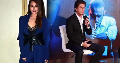 SRK is most chivalrous actor she has met, reveals Sonakshi Sinha!
