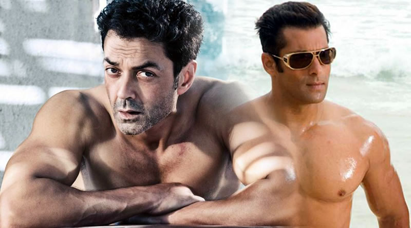 Salman Khan persuades Bobby Deol to go shirtless in Race 3!