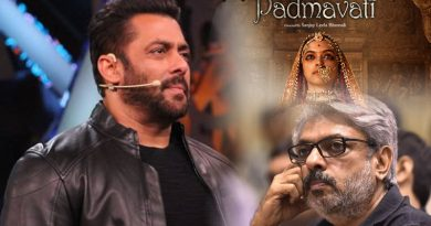 Salman to support Sanjay Leela Bhansali's Padmavati!