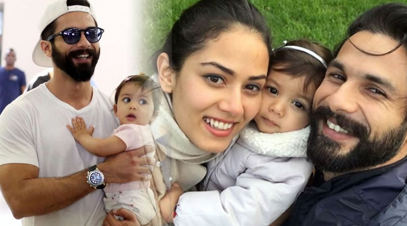 Shahid Kapoor is an extremely emotional dad for Misha!