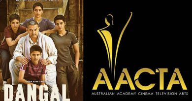 Dangal wins best Asian Film at 7th Australian Academy of Cinema and Television Arts Awards!