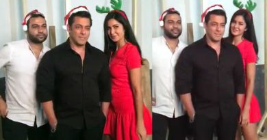 Merry Christmas from Tiger Zinda Hai trio!