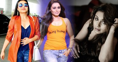 Comfortable romancing younger actors on screen, reveals Rani Mukerji!