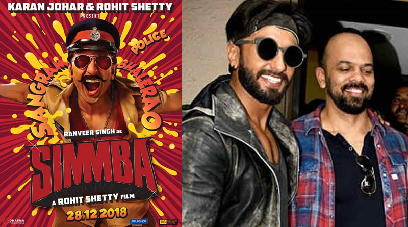 Ranveer Singh's angry young cop avatar in Simmba's First Look!