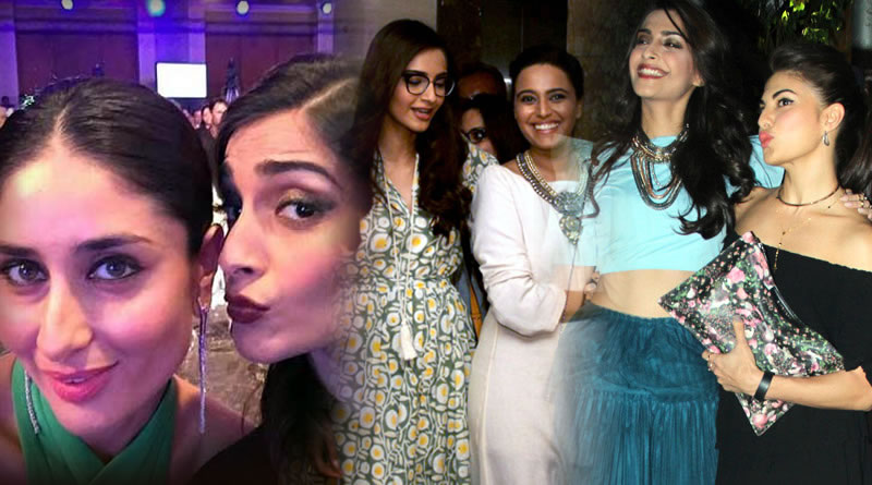 Kareena, Jacqueline and Swara are my closest friends, says Sonam Kapoor!