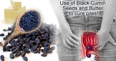 Use of Black Cumin Seeds and Butter to cure piles related issues!