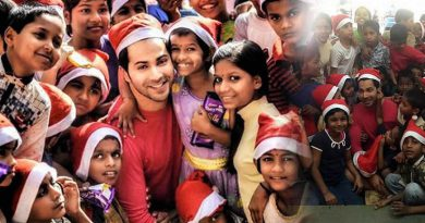 Varun Dhawan's Christmas with orphan kids!