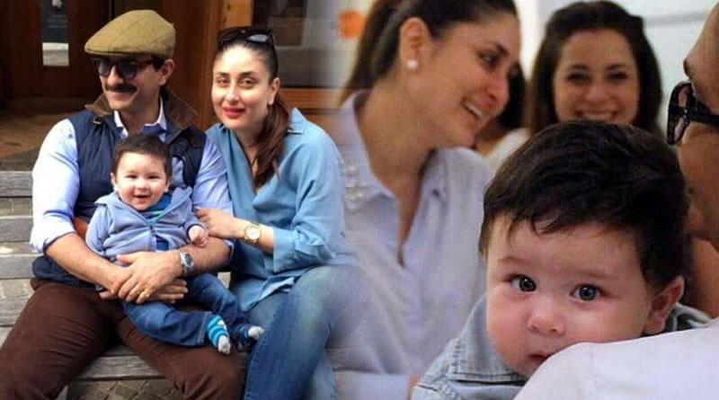 Taimur Ali Khan's special Christmas with mom-dad Saif and Kareena!