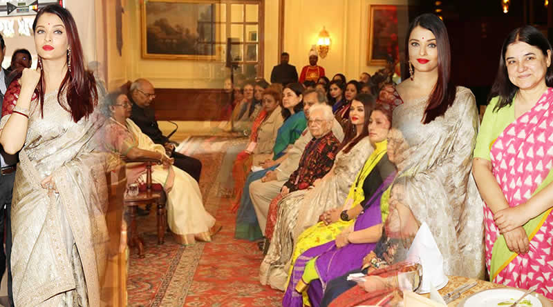 Bollywood diva Aishwarya Rai Bachchan felicitated with Women Achievers Award by President of India Ram Nath Kovind!