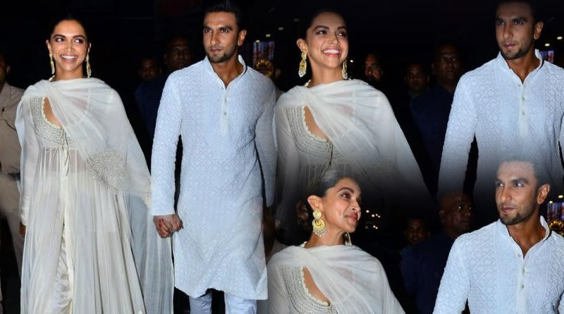 Deepika Padukone and Ranveer Singh's couple type PDA!
