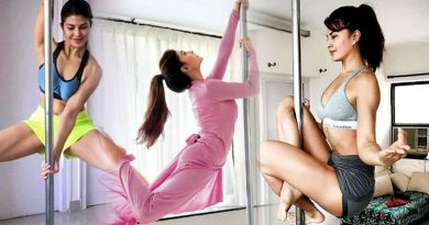 Jacqueline Fernandez's pole dance in Race 3!