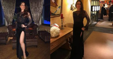 Kareena rung in New Year 2018 in a sexy black gown at black-tie party!