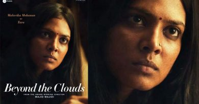 Malavika Mohanan's bucolic look in Beyond The Clouds' poster!