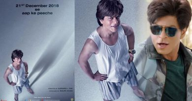 Naughty SRK's first look in the film Zero!