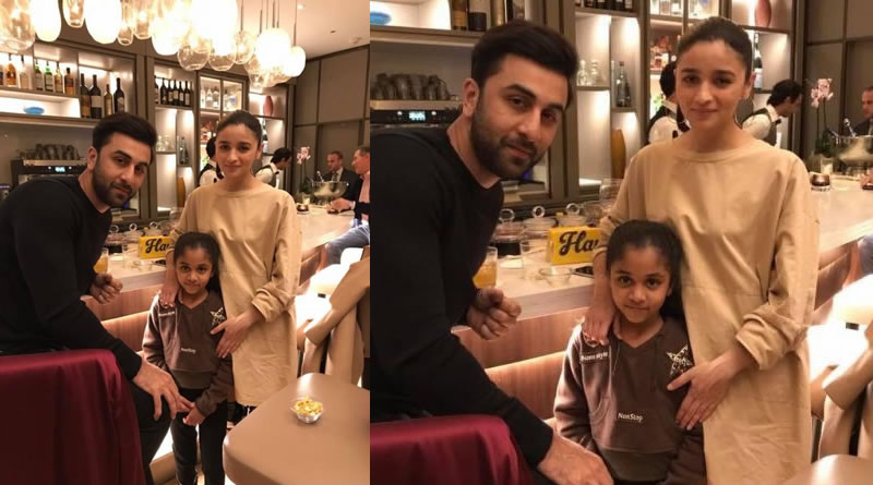 Ranbir and Alia's encounter with a fan in Tel Aviv!