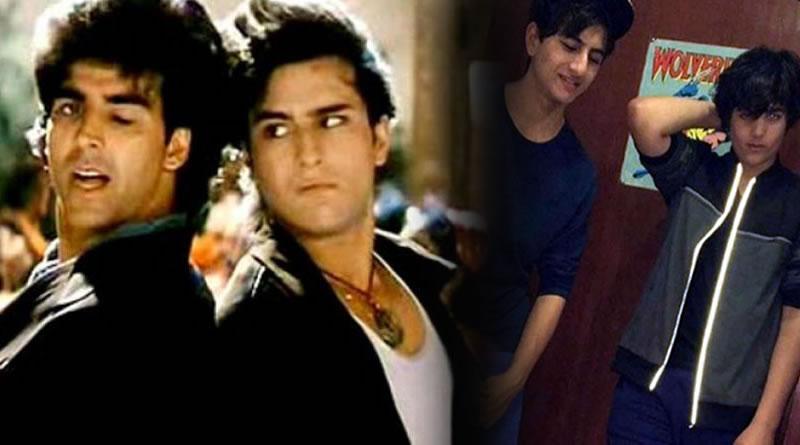 Saif Ali Khan reveals the secrets about his son Ibrahim and Akshay's son Aarav!