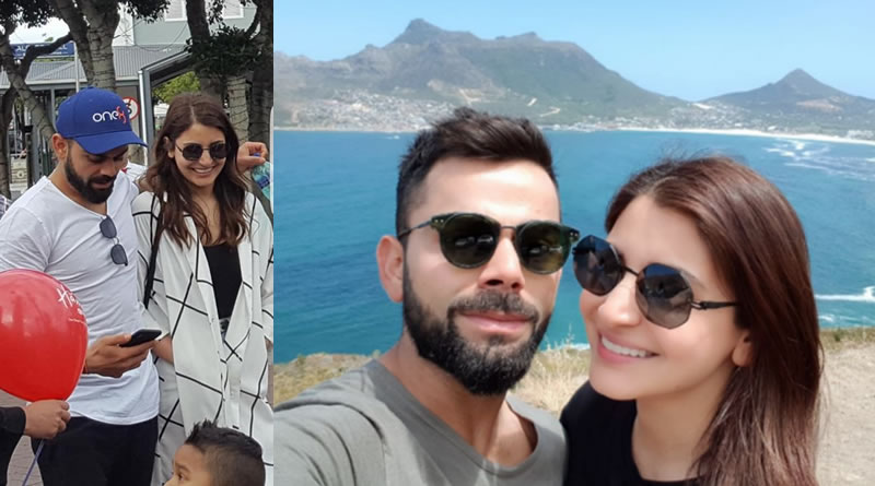 Virat and Anushka's New Year Wish with 'Love and light to all' tweet from Cape Town!