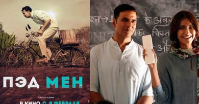 Akshay Kumar starrer PadMan to create history in Russia on 9th Feb 2018!