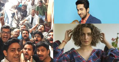 Its wrap up time for Ayushmann-Sanya's Badhai Ho in Mumbai!