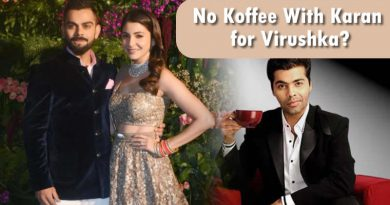 Anushka Sharma and Virat Kohli will not appear on Koffee With Karan's next season!