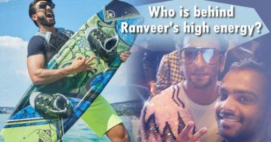 In Ranveer Singh giving credit to his 'girlfriend' Deepika Padukone behind his high energy?