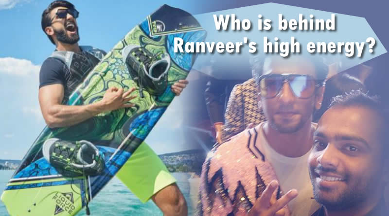 In Ranveer Singh giving credit to his 'girlfriend' Deepika Padukone behind his high energy?