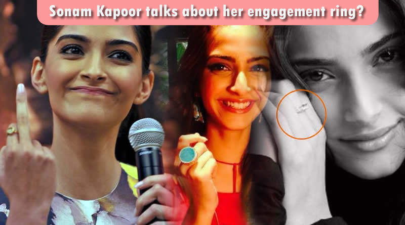 Sonam Kapoor opens up about ring on her finger!