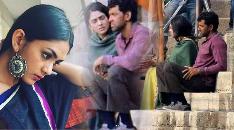 TV actress Mrunal Thakur romances with Hrithik in Super 30!