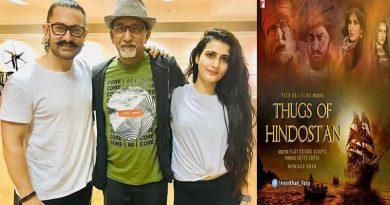 Thugs of Hindostan's title track rehearsal for Aamir Khan and Fatima Sana Shaikh!