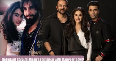 Debutant Sara Ali Khan's romance with Ranveer now