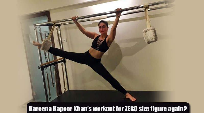 Kareena Kapoor Khan's pilates workout for ZERO size figure again!