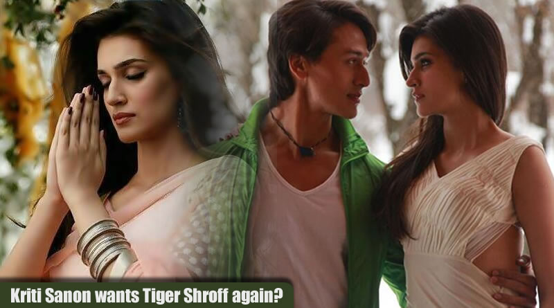 Kriti Sanon's desire to share screen with Tiger Shroff again!