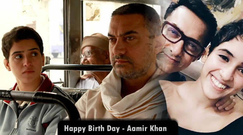 Sanya Malhotra's cute birthday message to 53rd turned Aamir Khan!