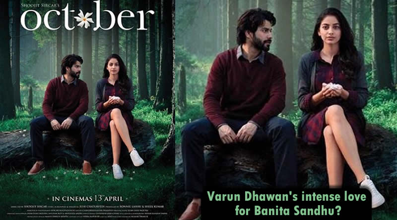 Varun Dhawan's adorable gesture toward Banita Sandhu in October's new poster!