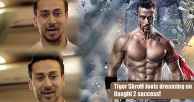 Tiger Shroff feels dreaming on Baaghi 2 success!