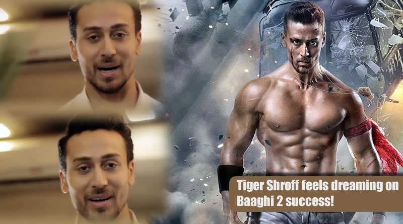 Tiger Shroff feels dreaming on Baaghi 2 success!
