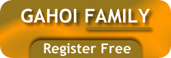 Gahoi Family Registration Form