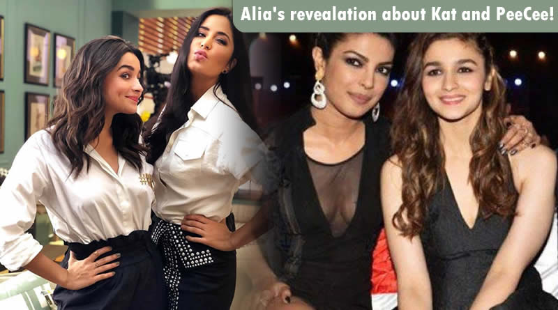 Alia to reveal secrets about her contemporaries Priyanka and Katrina!
