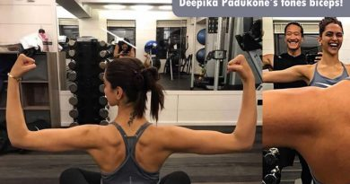 Deepika Padukone's toned biceps for gym motivations!