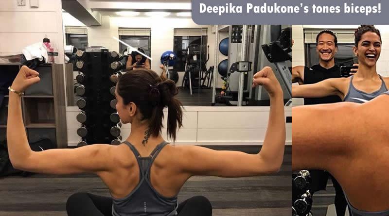 Deepika Padukone's toned biceps for gym motivations!