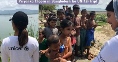 Priyanka Chopra in Bangladesh for UNICEF trip!