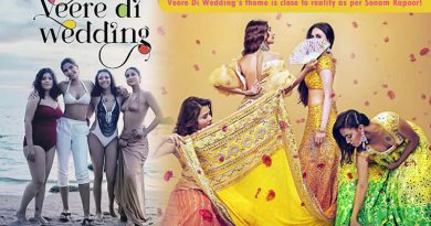 Veere Di Wedding's theme is close to reality as per Sonam Kapoor!